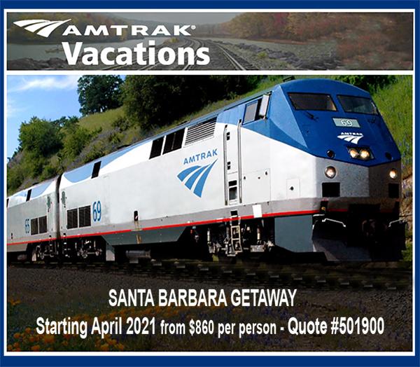 Amtrak Santa Barbara Getaway
